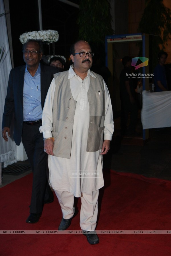 Amar Singh at Esha Deol's Wedding Reception