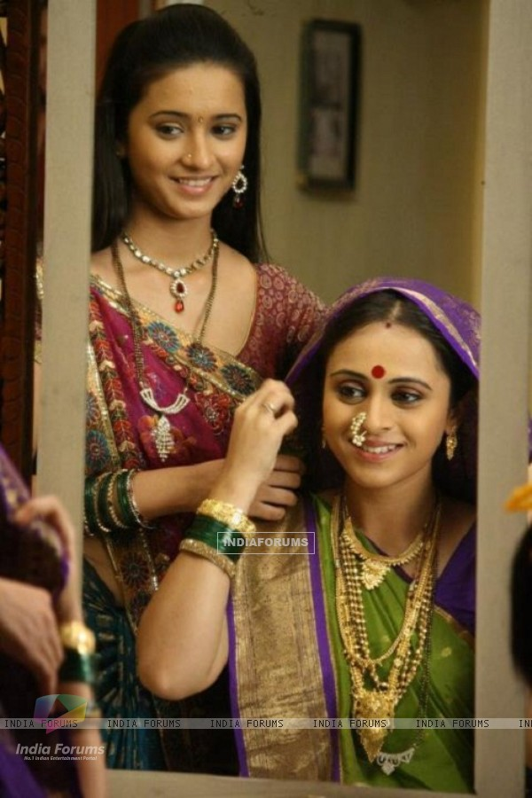 Shivani Surve as devyani in marathi tv show