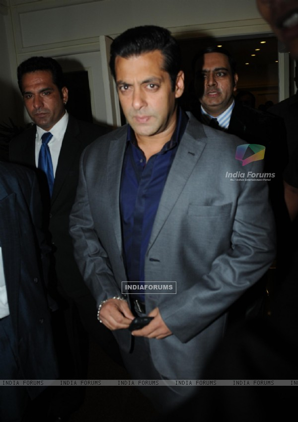 Salman Khan at the 8th Indo-American Corporate Excellence Awards
