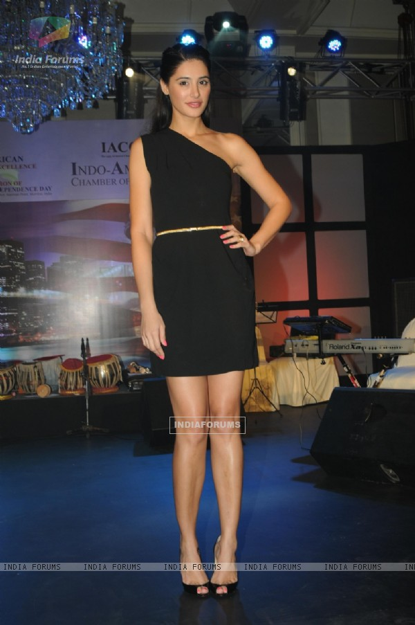 Nargis Fakhri at the 8th Indo-American Corporate Excellence Awards