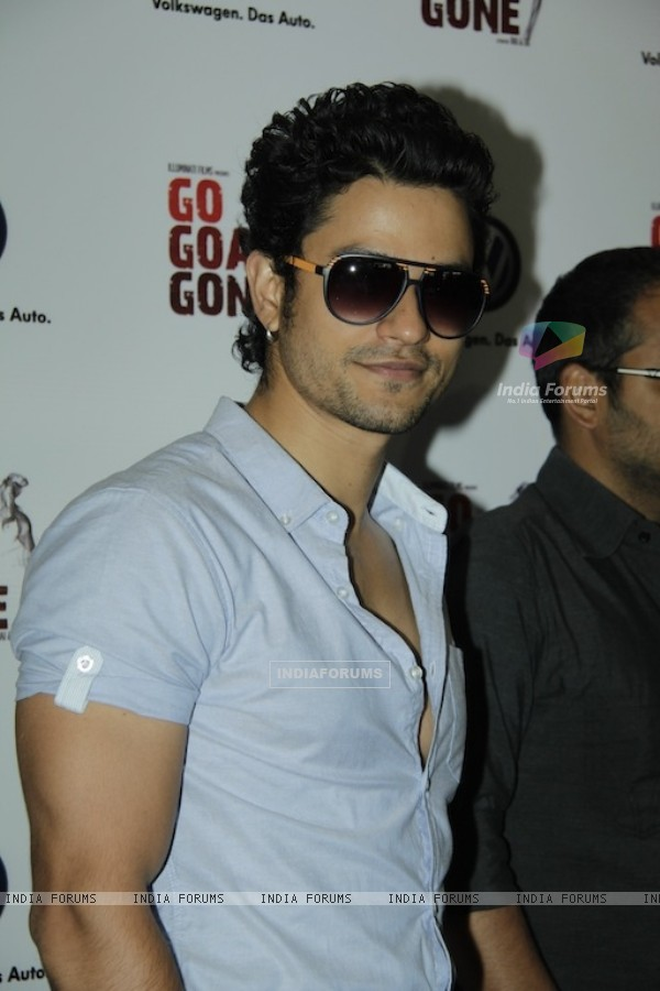 Kunal Khemu promoting Movie Go Goa Gone