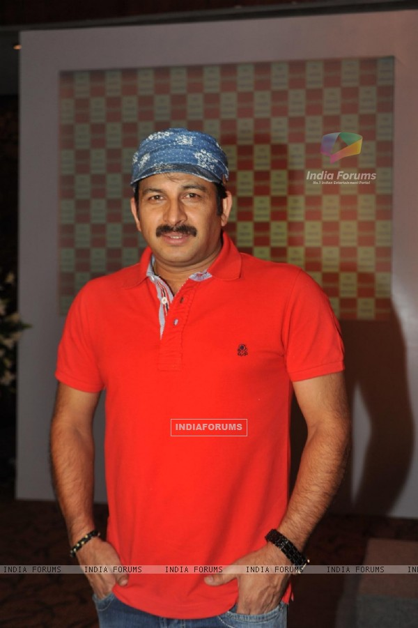 Manoj Tiwari at Launch of T P Aggarwal's trade magazine 'Blockbuster'