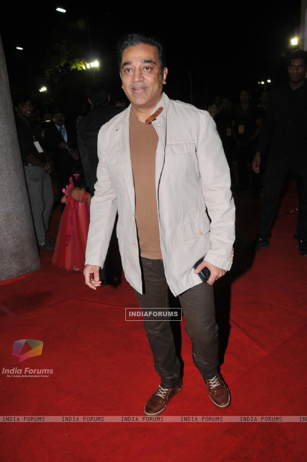 Kamal Hassan at 59th !dea Filmfare Awards 2011 (South)