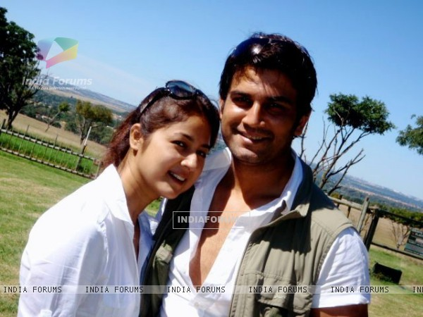 Sharad Kelkar and Keerti