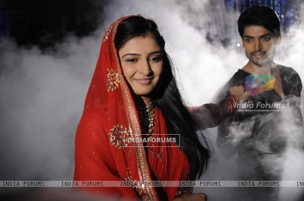 Gurmeet and Shweta