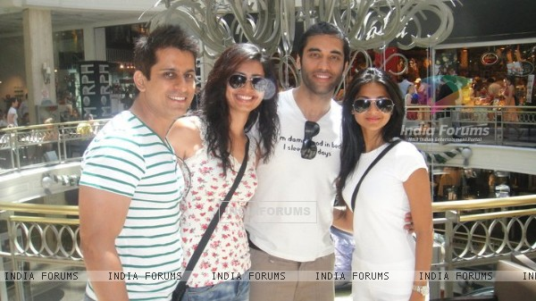 Jennifer Winget, Kushal Punjabi, Amit Sareen and Karishma Tanna