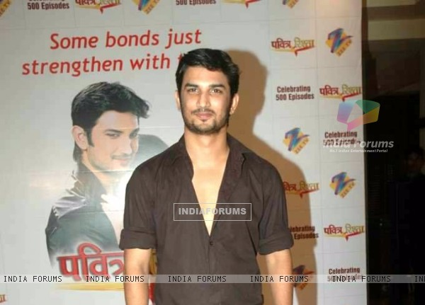 Sushant Singh Rajput At 500 Episode Bash Of Pavitra Rishta