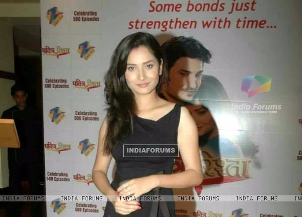 Ankita Lokhande At 500 Episode Bash Of Pavitra Rishta