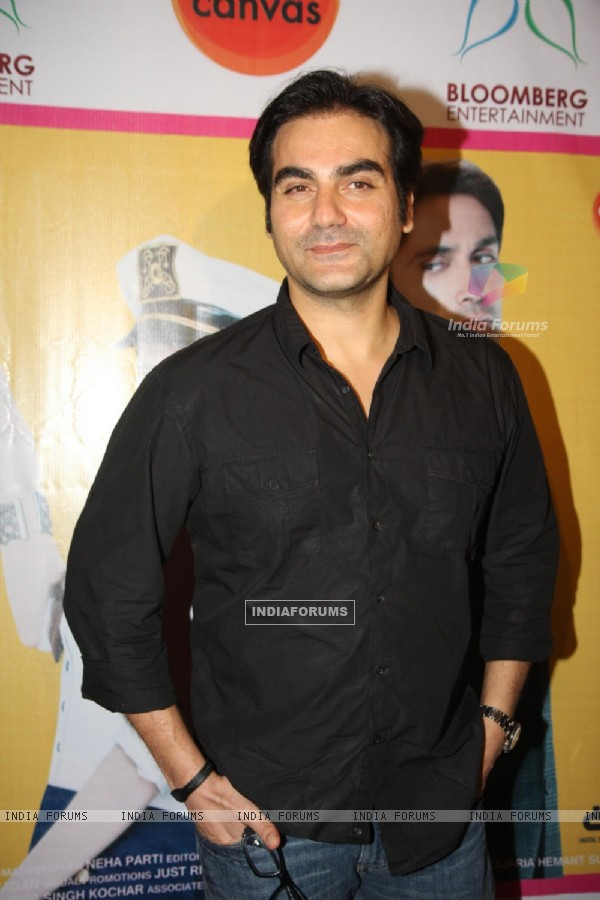 Arbaaz Khan at Premiere of 'Challo Driver'