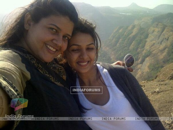 Keerti and Khushboo