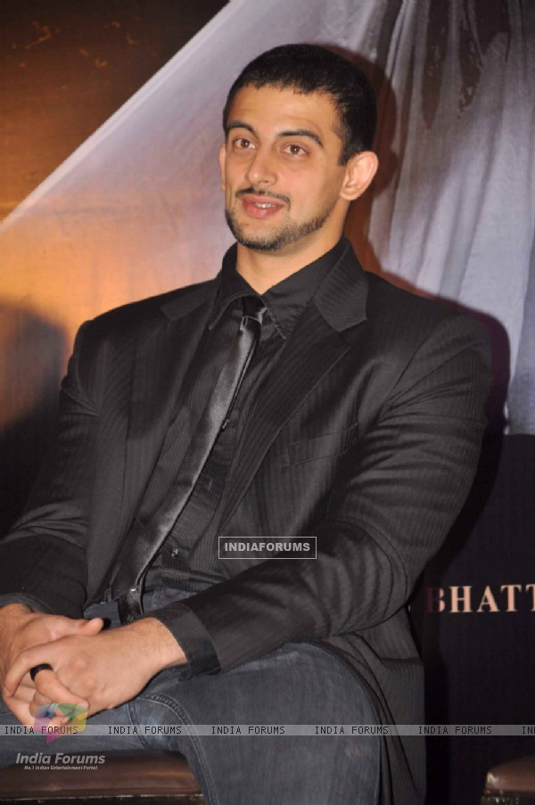 Bollywood actor Arunoday Singh at Jism 2 Press Conference, Grand Hyatt Mumbai India. .