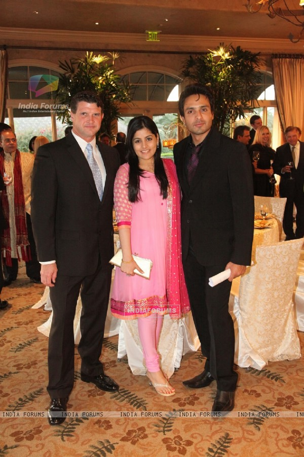 Iqbal Khan with wife Sneha at Indian Film Festival Of Houston1