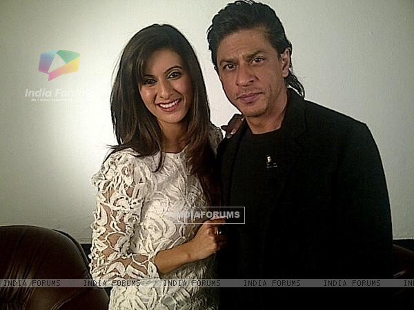 Khushboo and Shah Rukh Khan