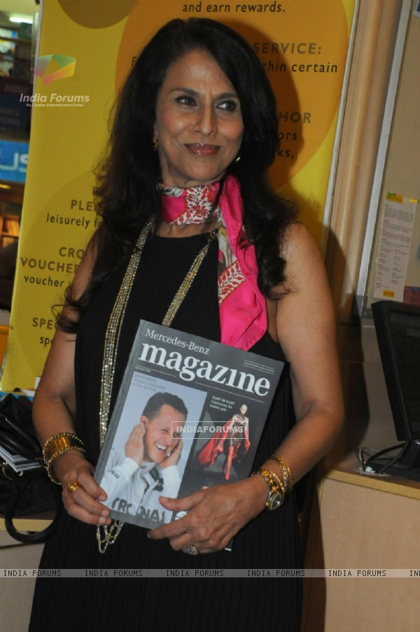 Shobha De launched Mercedes-Benz Magazine at Crossword