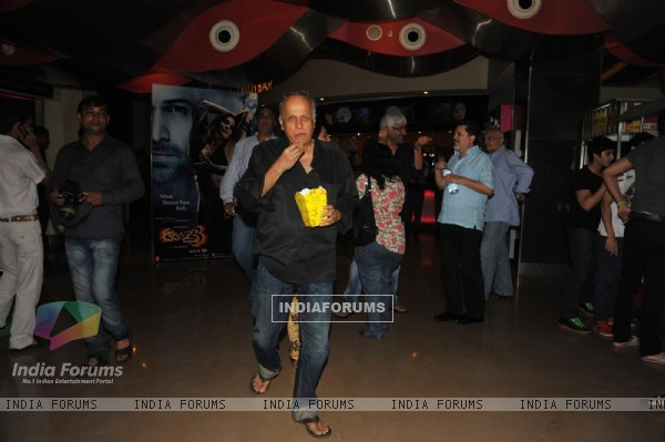 Mukesh Bhatt at First trailer launch of 'Raaz 3'