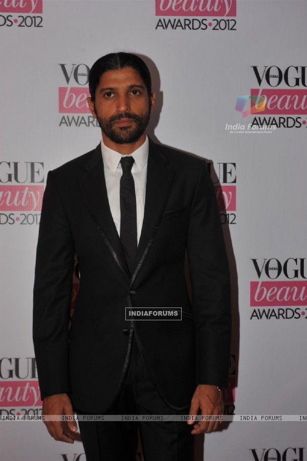 Farhan Akhtar at 'Vogue Beauty Awards 2012' at Hotel Taj Lands End in Bandra, Mumbai