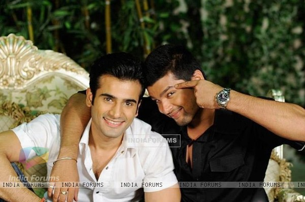 Kushal Tandon and Karan Tacker