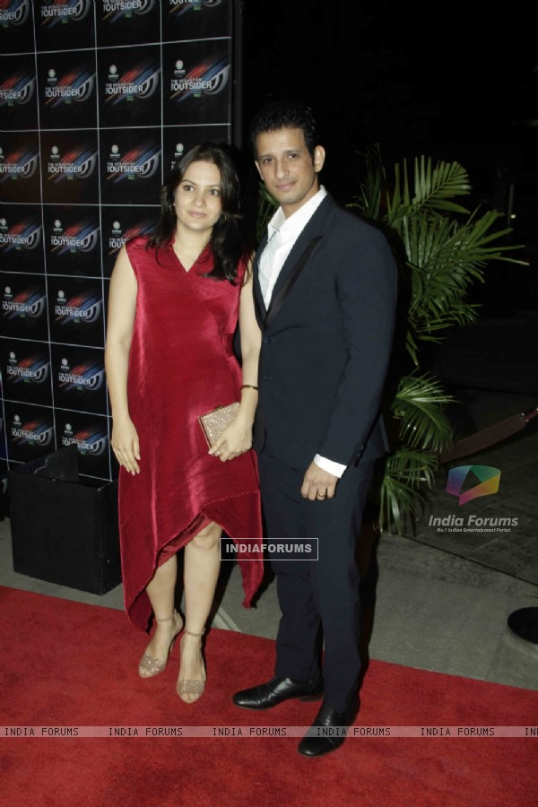 Sharman Joshi at 'The Outsider' party launch