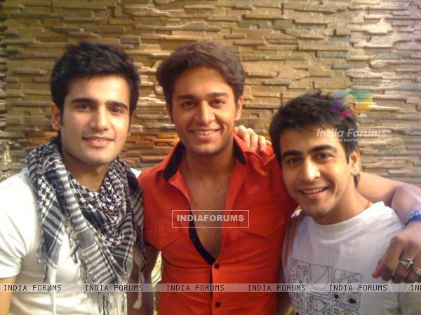 Gaurav, Karan and Dishank