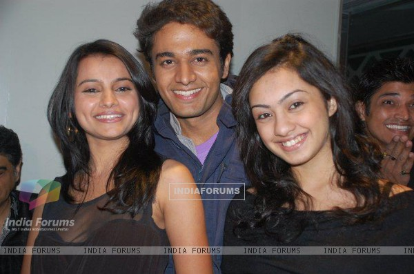 Gaurav with Vandana & Abigail