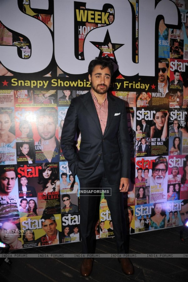 Actors Imran Khan and Sonam Kapoor at the 3rd Anniversary celebrations of magazine Star Week at Vie Lounge in Juhu, Mumbai