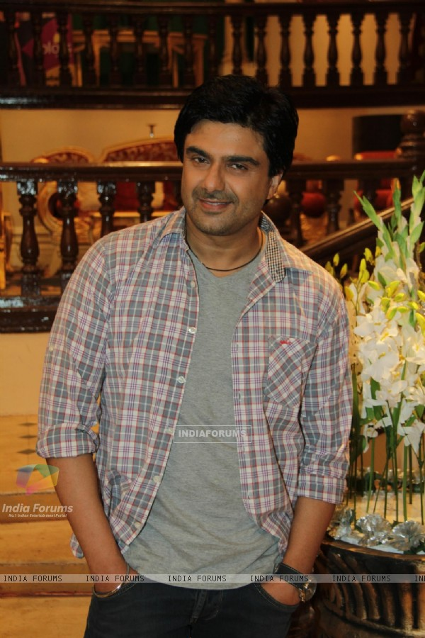 Sameer Soni at the Press Conference of Parichay Nayee Zindagi Kay Sapno Ka