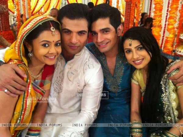 Devoleena, Nazim, Vishal and Rucha