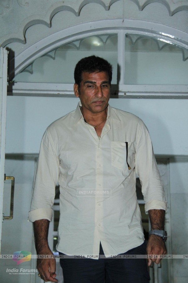 Mukesh Rishi at Condolence Meeting of cinematograher Ashok Mehta