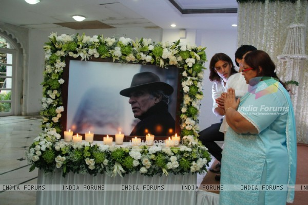 Condolence Meeting of Ashok Mehta