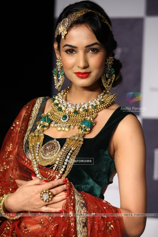 Sonal Chauhan at Tanvi Garg and Deepti & Amisha Show on Day 2 at IIJW 2012