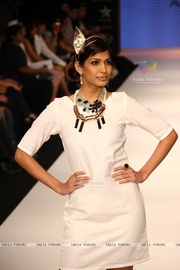 Aavriti Jain, Siddharth Daspan and Manish Khattar show at IIJW 2012