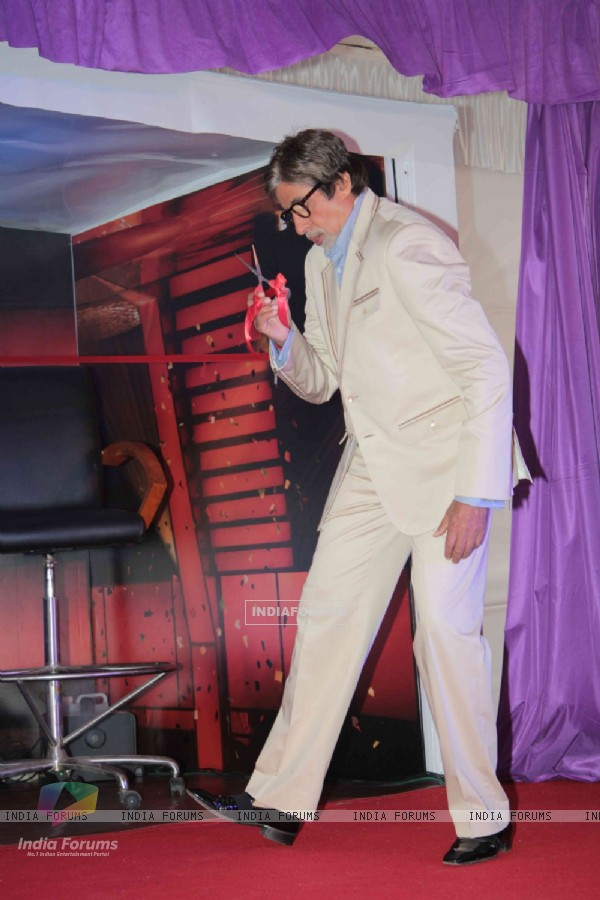 Amitabh Bachchan at Kaun Banega Crorepati Press Meet