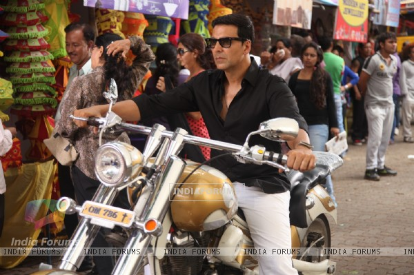 Divine Bike For Akshay Kumar In OMG Oh MyGod (221955)