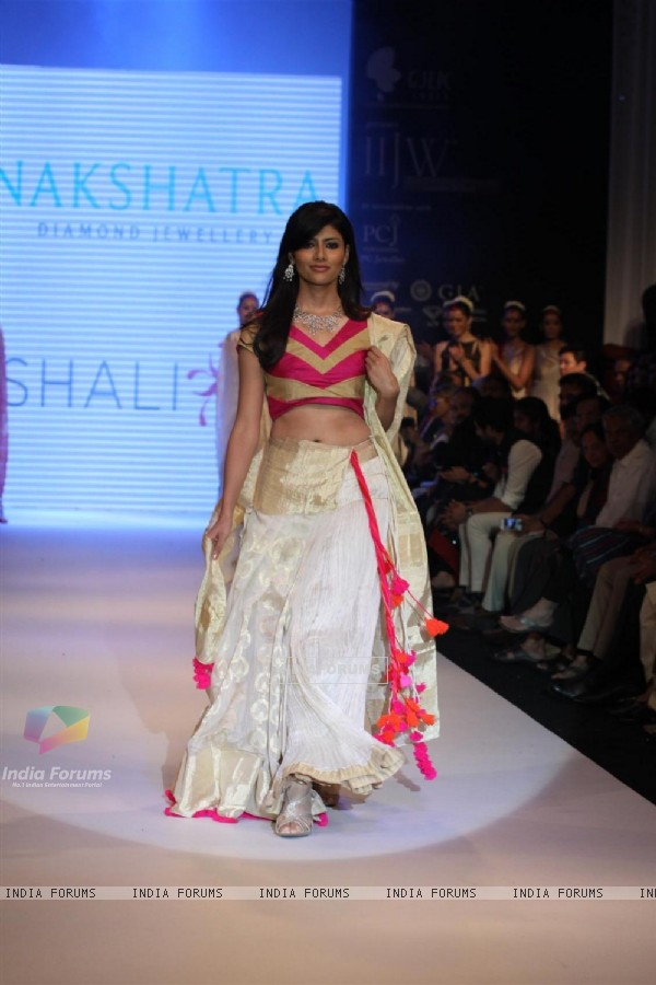 Gitanjali Gems show on Day 4 of IIJW 2012