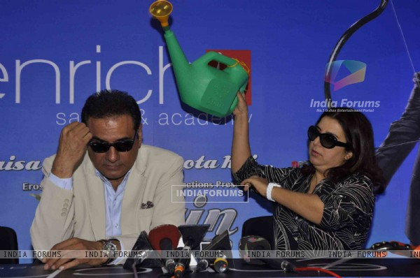 Boman Irani and Farah Khan promote 'Shirin Farhad Ki Toh Nikal Padi' at Enrich Salons
