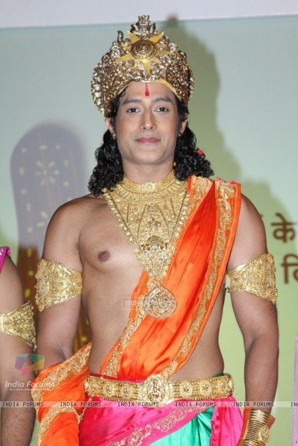 Gagan Malik as Ram in Zee TV's Sabke Jeevan Ka Aadhar - Ramayan