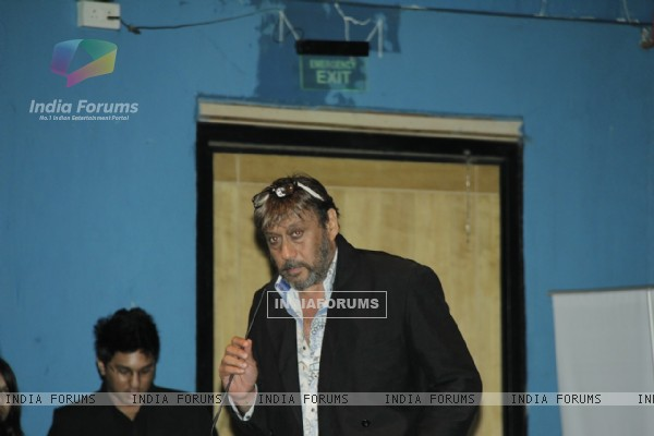 Jackie Shroff at Whistling Woods International offers tribute to Ashok Mehta