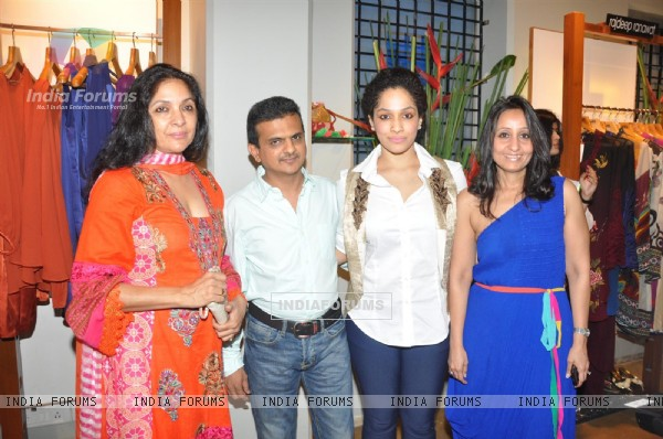 Neena Gupta, Masaba Gupta at Launch of Fuel - The Fashion Store Over Wine & Cheese