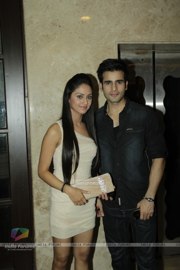 Krystal D'Souza and Karan Tacker at GR8 Magazine Party at Club Millennium
