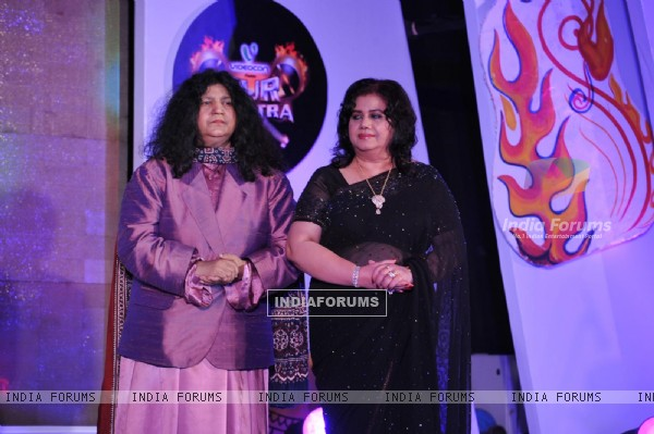 Abida Parveen & Runa Laila at Launch and press conference of reality musical show of Sur- Kshetra