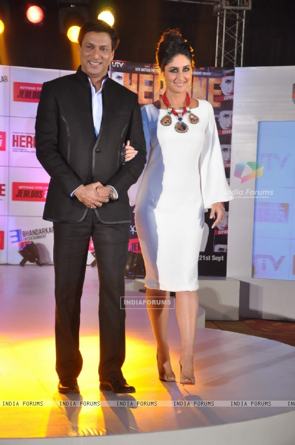Kareena Kapoor and Madhur Bhandarkar at Jealous 21 fashion show