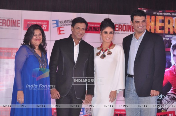 Kareena Kapoor and Madhur Bhandarkar at Jealous 21 fashion show in Hyatt Regency, Mumbai