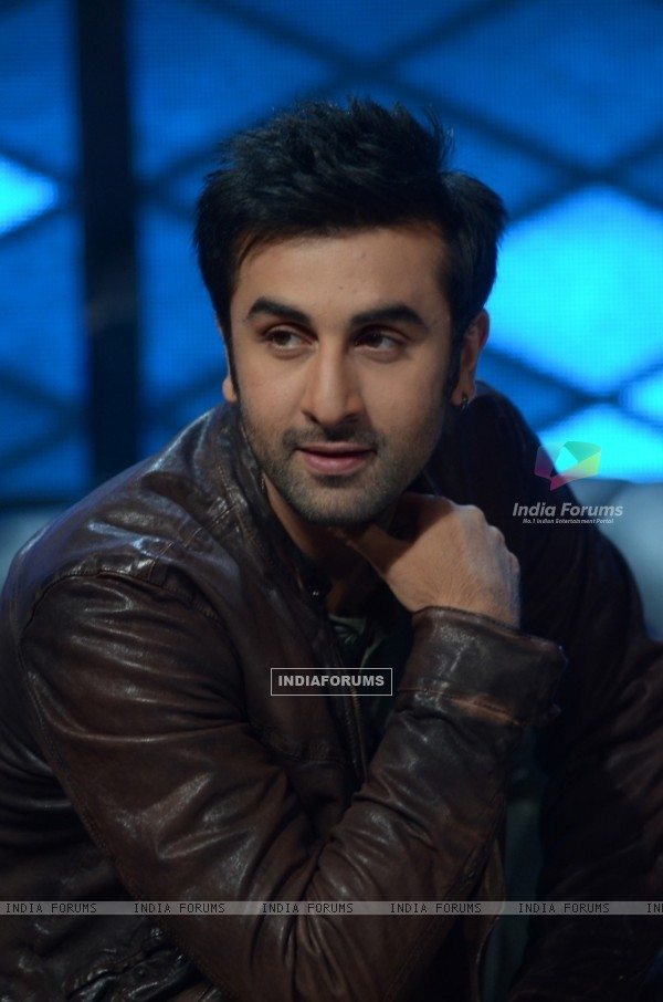 Bollywood actor Ranbir Kapoor at 'Indian Idol 6' Finale. .
