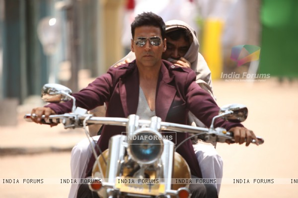 Akshay Kumar and Paresh Rawal in OMG! Oh My God
