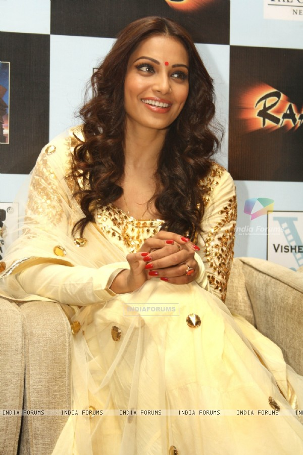 Bollywood actress Bipasha Basu at a press meet for the film Raaz-3 in New Delhi .