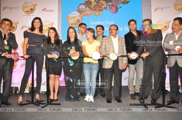 Celebs at Godrej Eon's cycling event