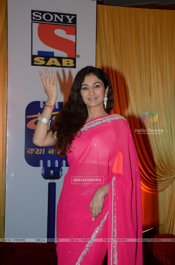 Neha Mehta at SAB TV's show launch Wah! Waah!! Kya Baat Hai!!!
