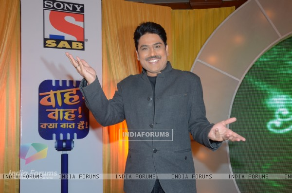 Shailesh Lodha at SAB TV's show launch Wah! Waah!! Kya Baat Hai!!!