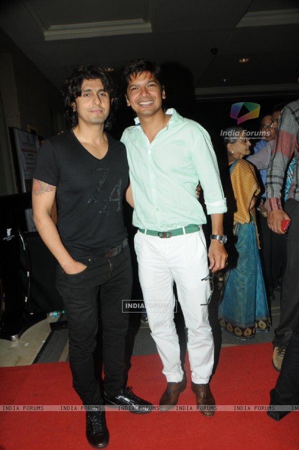 Sonu Niigam and Shaan at Le Club Musique hosts Adnan Sami Concert