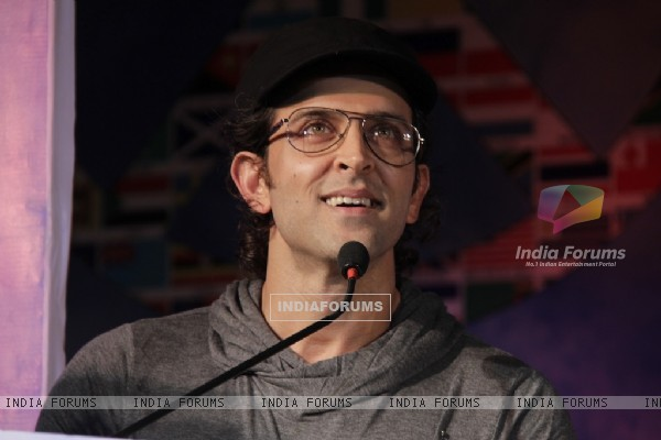 Hrithik Roshan at Launch of I Pledge 4 Peace
